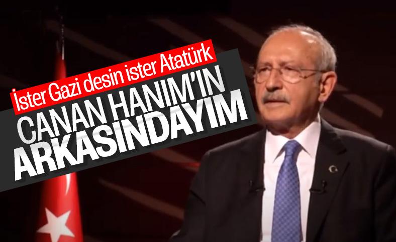 Kılıçdaroğlu CHP içindeki Atatürk tartışmalarını değerlendirdi