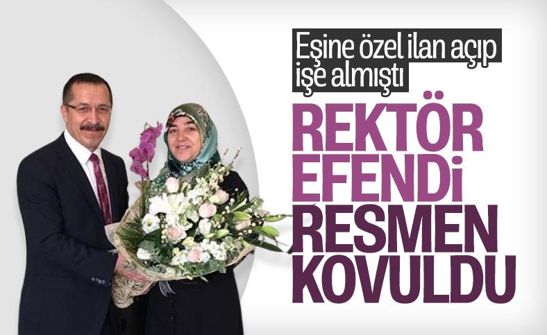 Pamukkale Üniversitesi Rektörü Hüseyin Bağ'ın görevi sonlandırıldı