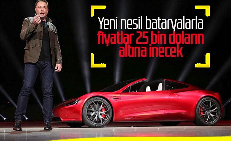 Tesla, 25 bin dolarlık elektrikli otomobil üretecek
