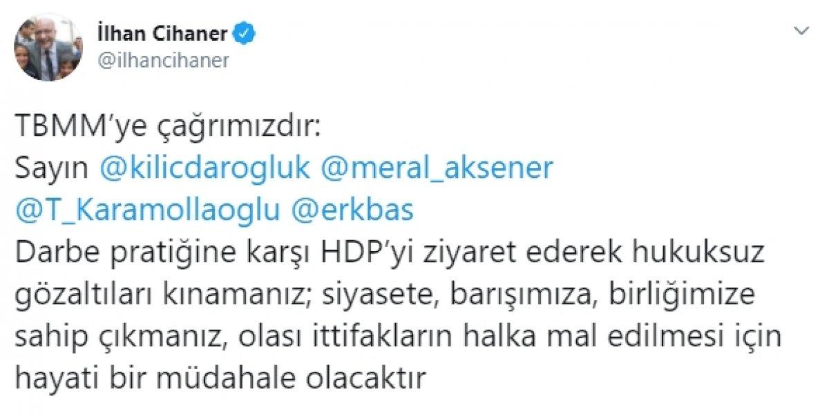 CHP Kobani olayları soruşturmasında HDP ye destek için çağrıda bulundu #1