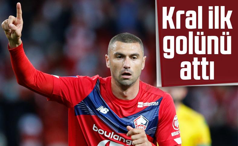Burak Yılmaz Lille'de ilk golünü kaydetti