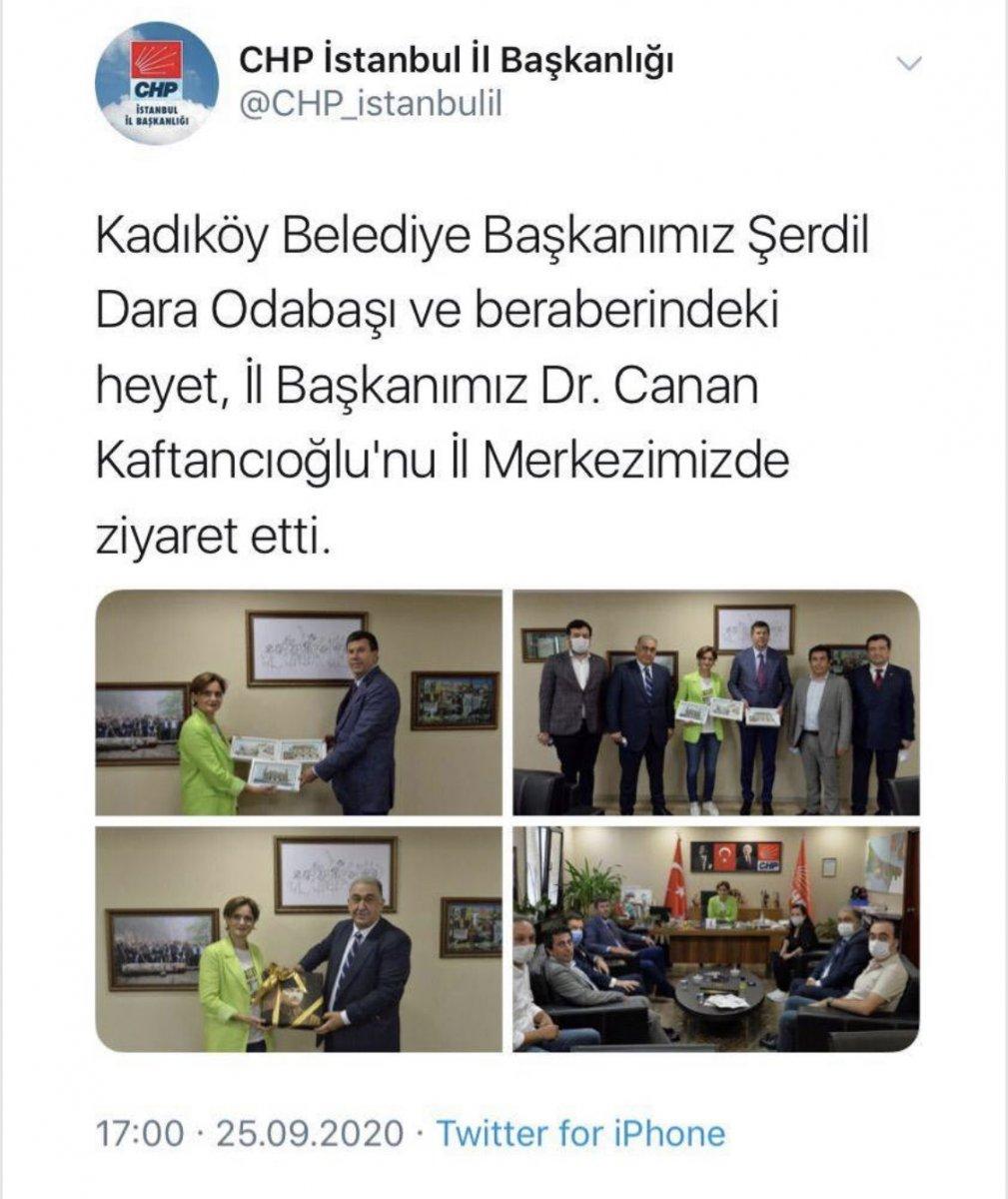 CHP İstanbul İl Başkanlığı Atatürk fotoğraflı paylaşımı sildi #1