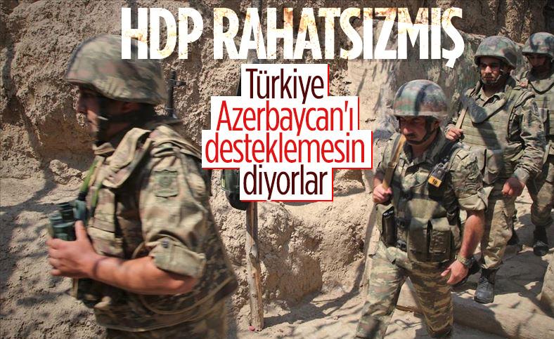 HDP, Azerbaycan - Ermenistan çatışmasına dair Türkiye'yi uyardı