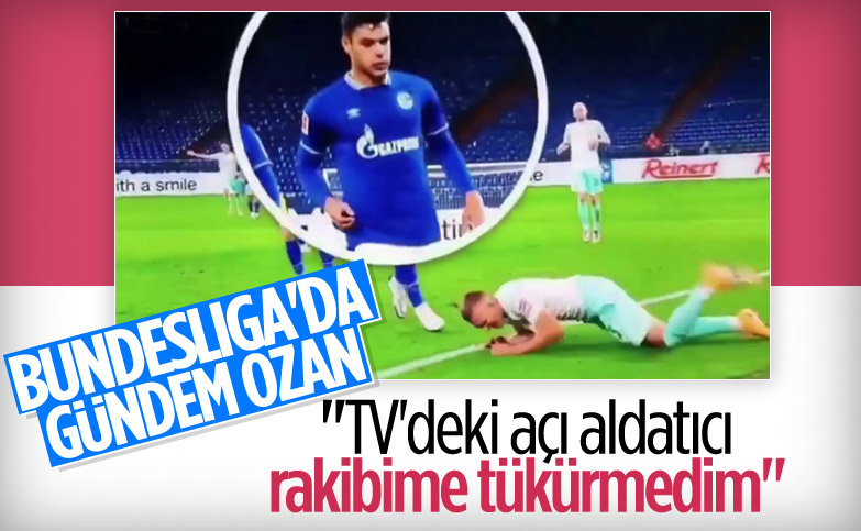 Ozan Kabak: Rakibime tükürmedim