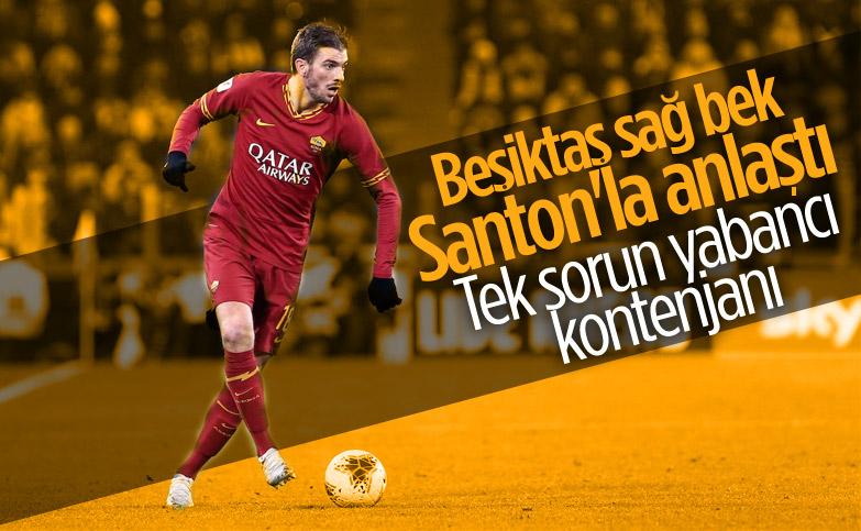 Beşiktaş, Davide Santon ile anlaştı