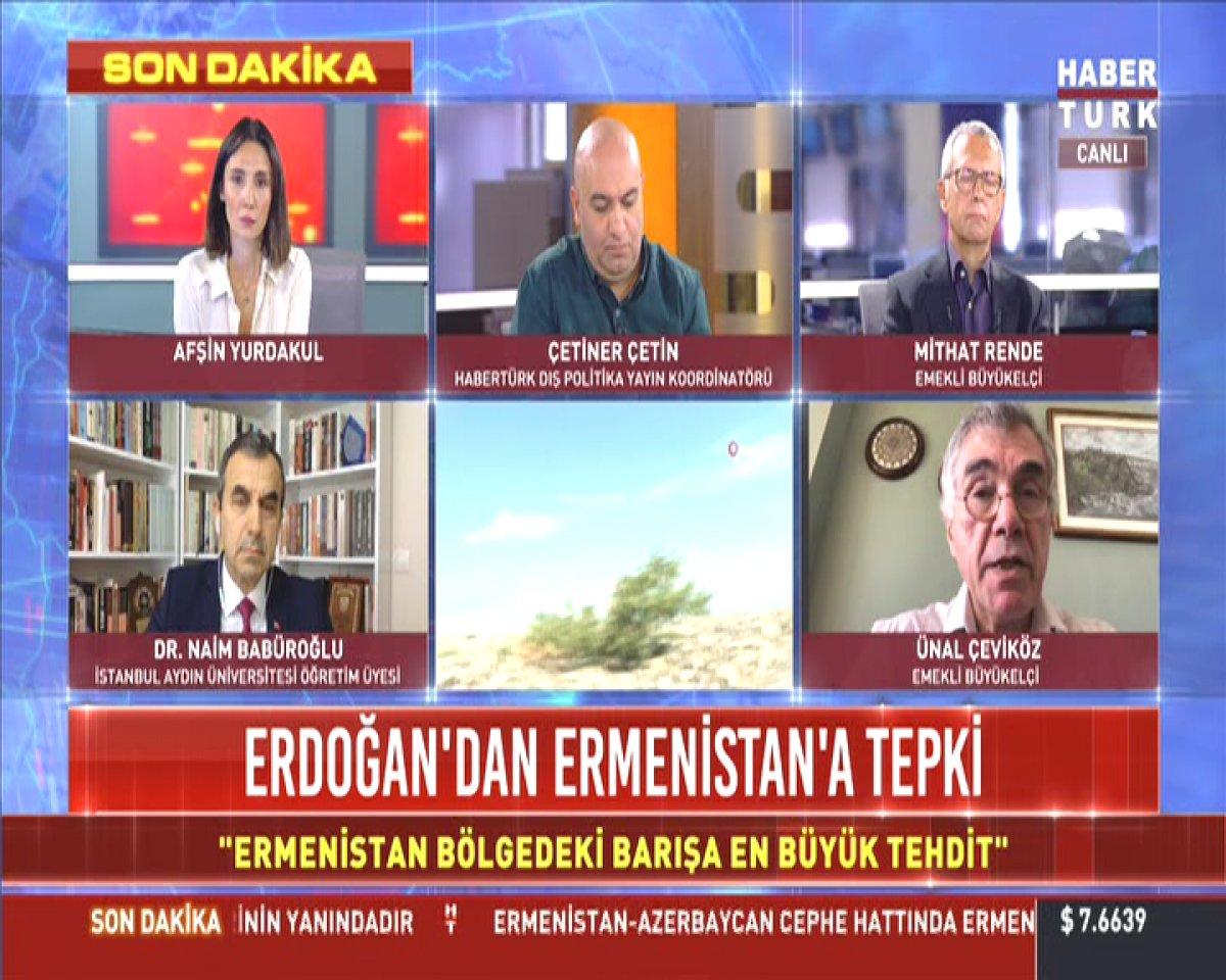 CHP Genel Başkan Yardımcısı Ünal Çeviköz den Azerbaycan provakasyonu  #1