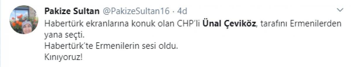 CHP Genel Başkan Yardımcısı Ünal Çeviköz den Azerbaycan provakasyonu  #4