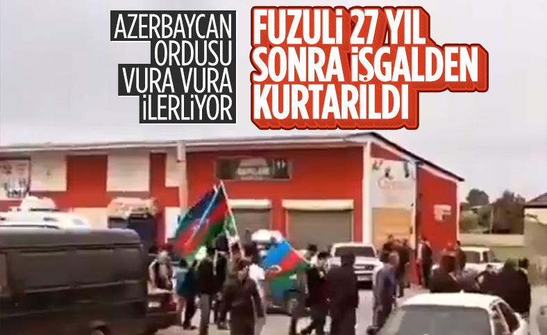 Azerbaycan işgal altındaki Fuzuli kentini kuşattı