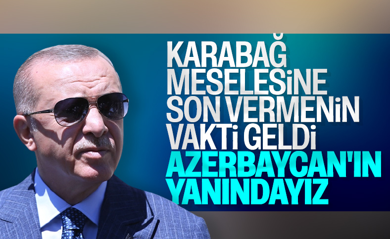 Cumhurbaşkanı Erdoğan: Ermenistan'ı bir kez daha kınıyorum