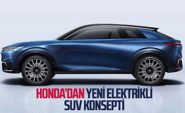 Honda, yeni elektrikli SUV konseptini tanıttı
