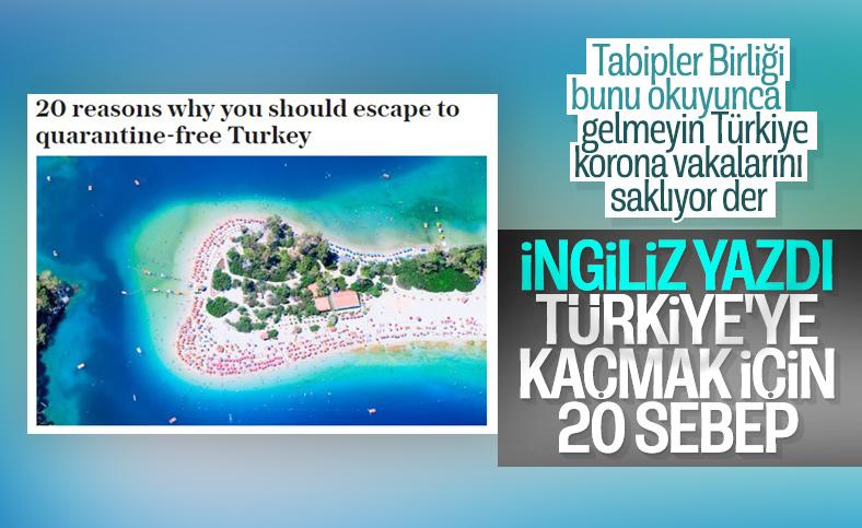 İngiliz basınından, tatilde Türkiye'ye gitmek için 20 sebep