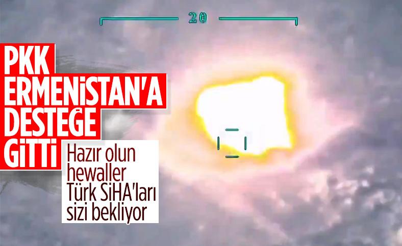 PKK Ermenistan'a yardıma gitti