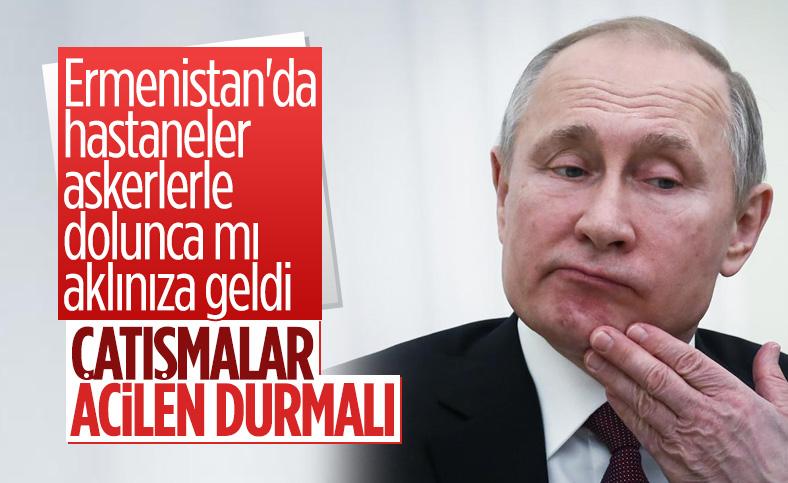 Kremlin: Dağlık Karabağ'daki askeri faaliyetlere derhal son verilmeli