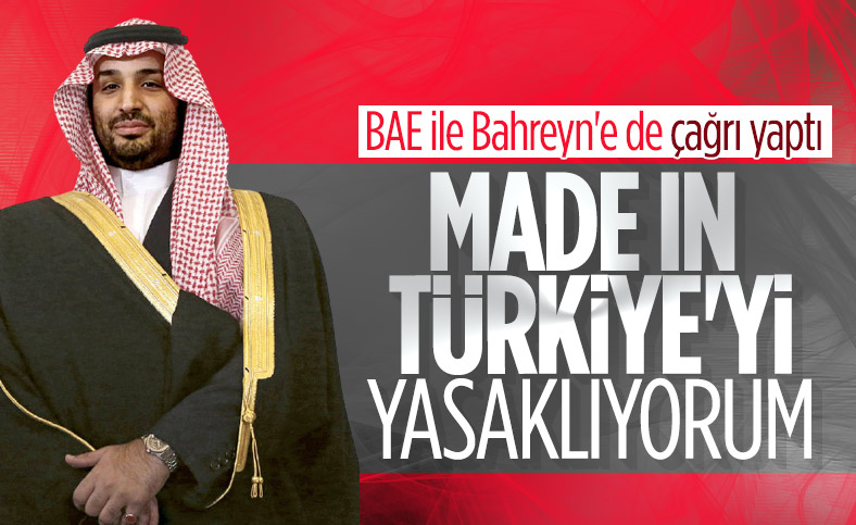 Suudi Arabistan Türkiye'den mal almayacak