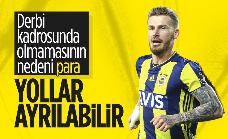 Fenerbahçe'de Serdar Aziz krizi