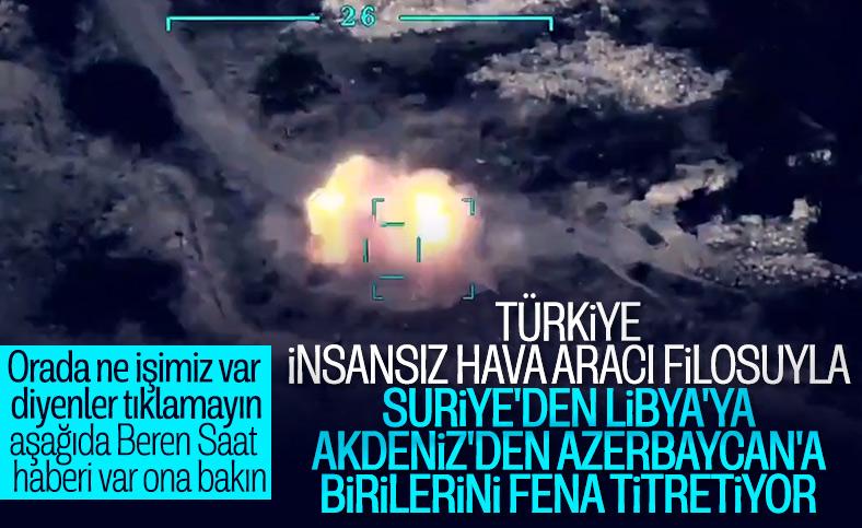 Azerbaycan Türk SİHA'ları ile üstünlük sağladı