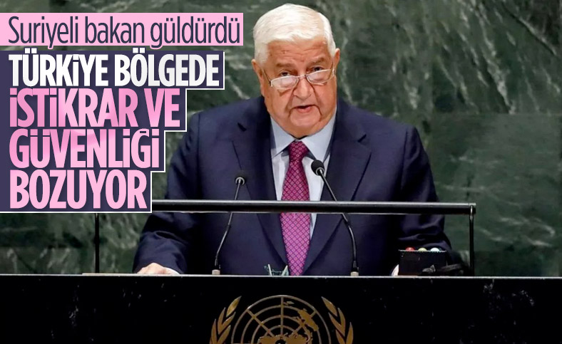 Suriye Dışişleri Bakanı'ndan Türkiye'ye rezil suçlama