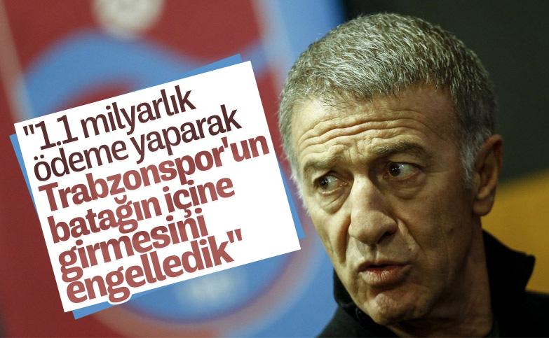 Ahmet Ağaoğlu: 1 milyar 100 milyon liralık ödeme yaptık