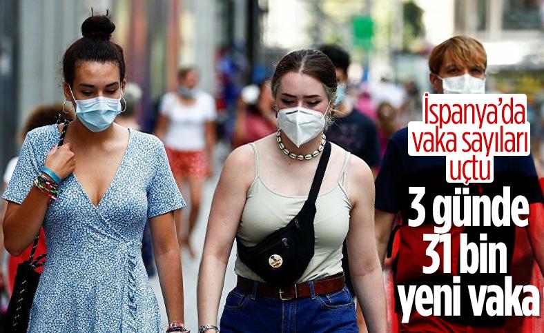 İspanya'da son 3 günde vaka sayısı 31 bin 785 arttı