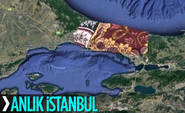 İstanbul'da sağanakla birlikte sıcaklık düşüşe geçti