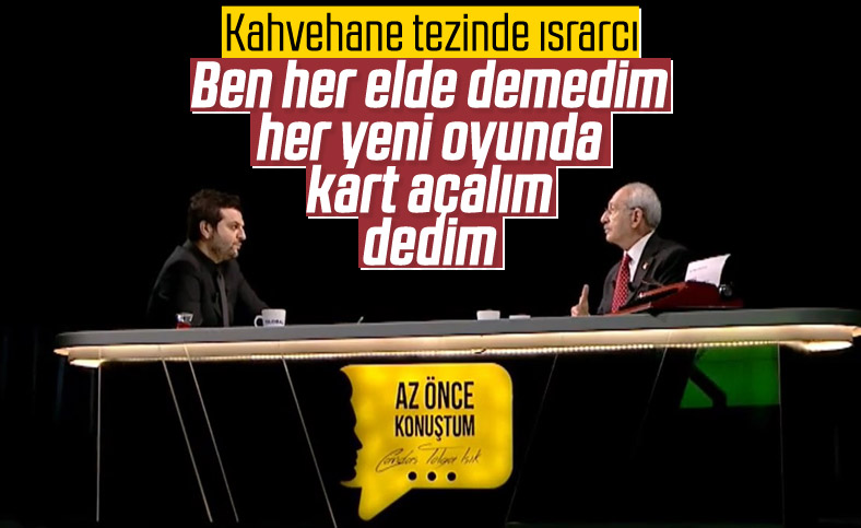 Kılıçdaroğlu: Her elde değil, her oyunda dedim
