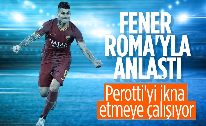 Fenerbahçe, Perotti transferi konusunda Roma ile anlaştı