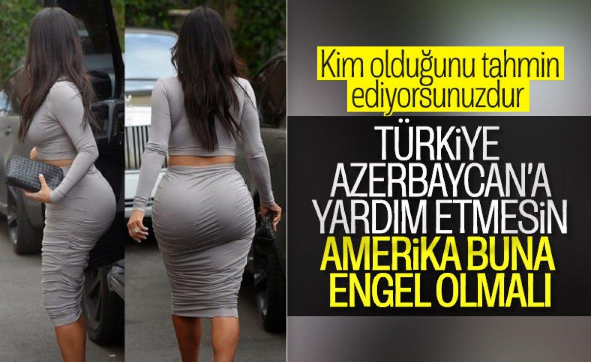 Kim Kardashian, Ermenistan'a destek istedi