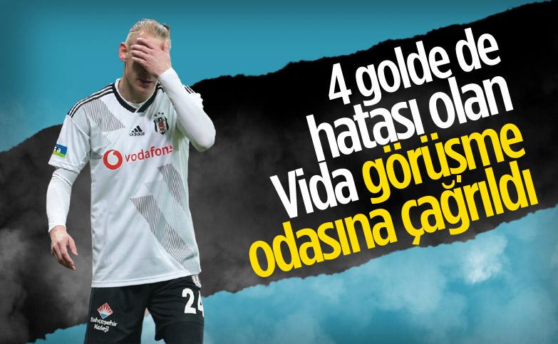 Beşiktaş yönetimi, Domagoj Vida'yı uyaracak