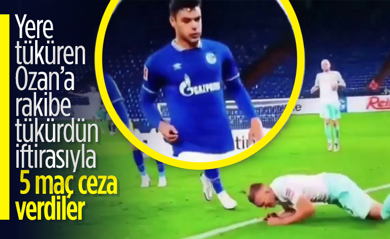 Ozan Kabak'a 5 maçlık ceza
