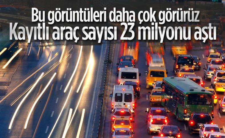 Türkiye'de ilk 8 ayda trafiğe kayıtlı araç sayısı 631 bine yaklaştı