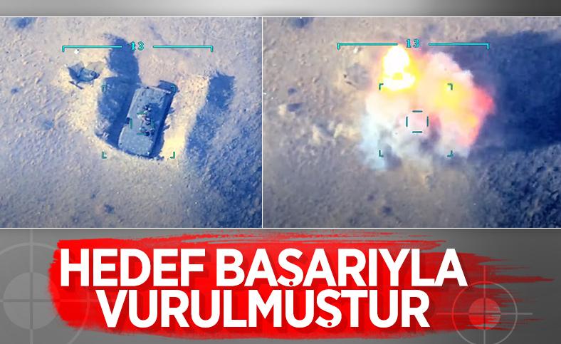 Azerbaycan ordusu nokta atışlarına devam ediyor