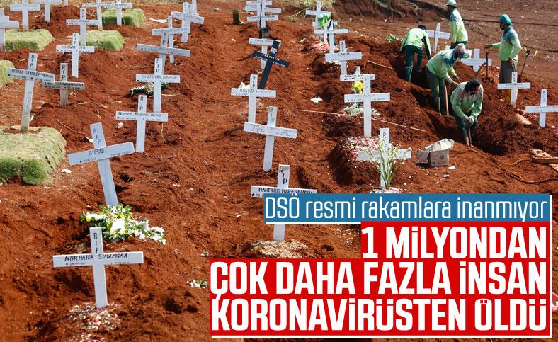 DSÖ: Koronavirüsten ölümler, resmi rakamlardan çok fazla