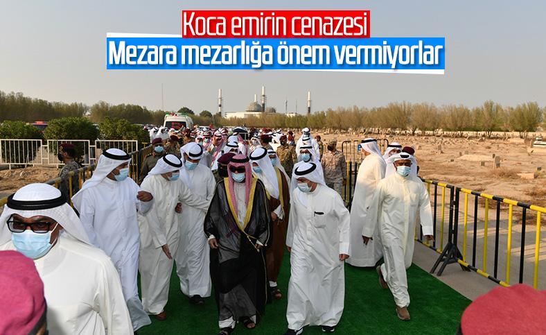 Kuveyt Emiri es-Sabah defnedildi