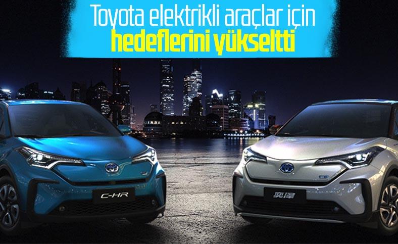 Toyota, yılda 5.5 milyon elektrikli araç satmayı planlıyor