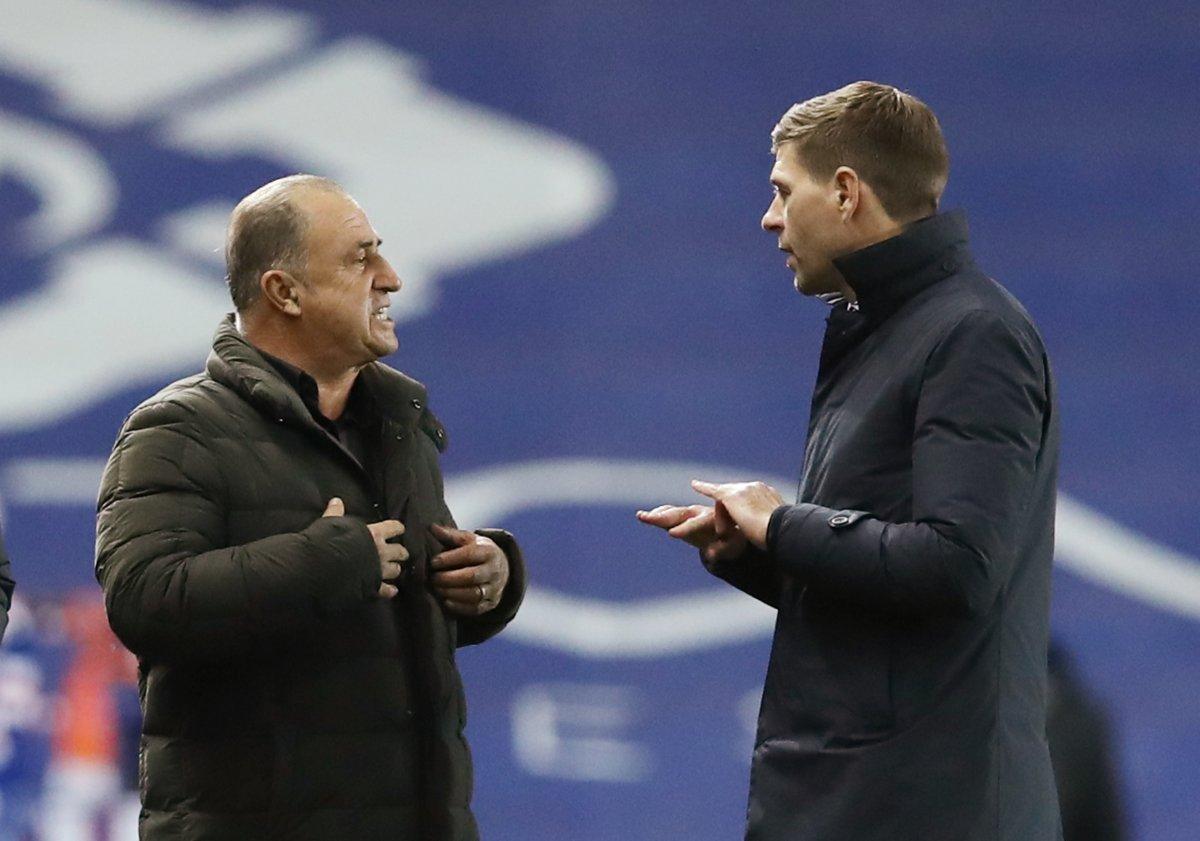 Fatih Terim ve Steven Gerrard tartıştı #2