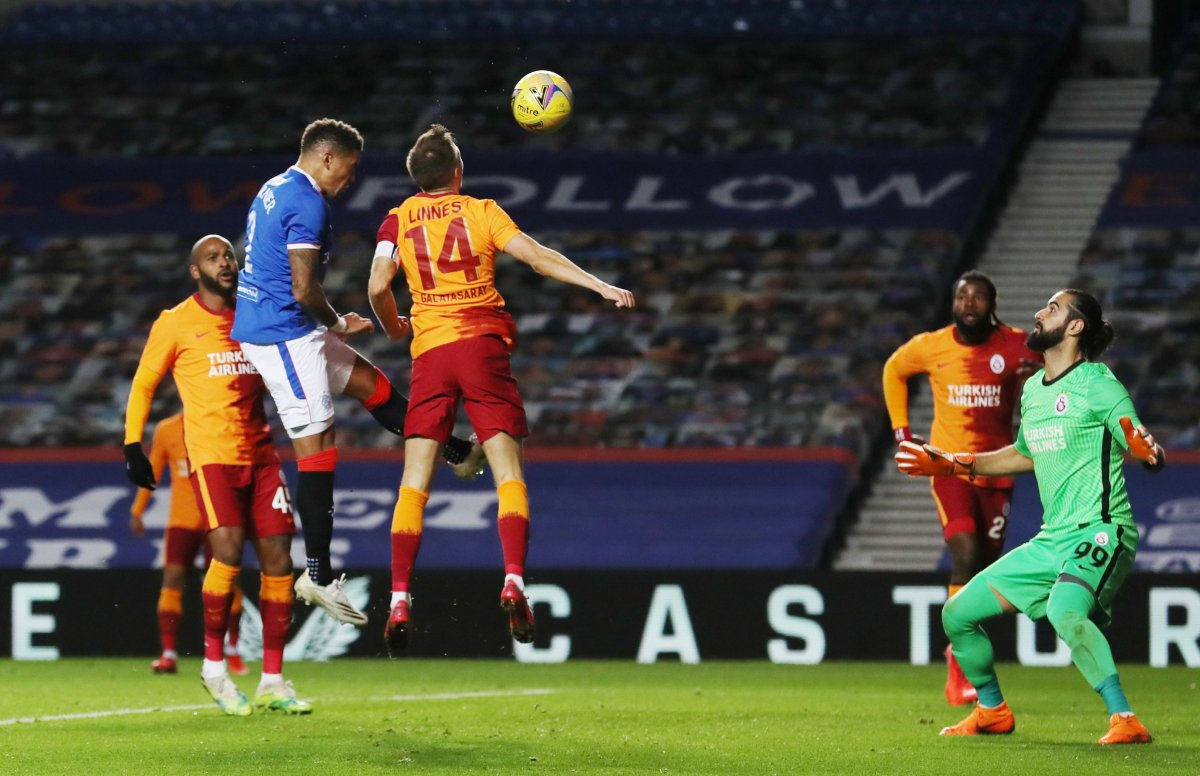 Rangers a yenilen Galatasaray Avrupa ya veda etti #4
