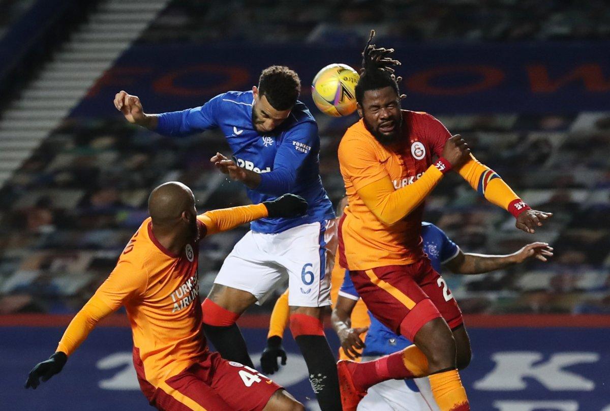 Rangers a yenilen Galatasaray Avrupa ya veda etti #3