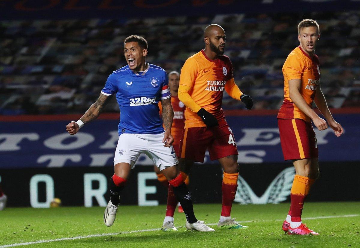Rangers a yenilen Galatasaray Avrupa ya veda etti #1