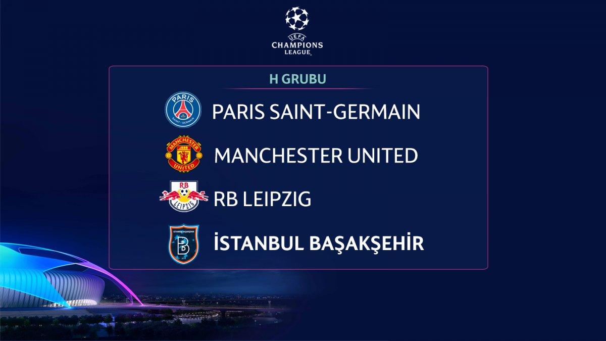Başakşehir in Şampiyonlar Ligi ndeki rakipleri #1