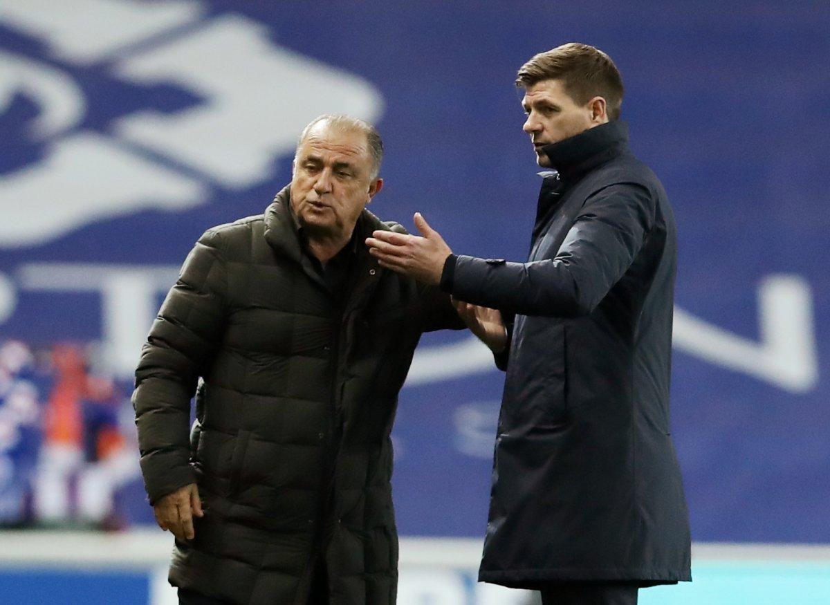 Fatih Terim ve Steven Gerrard tartıştı #3