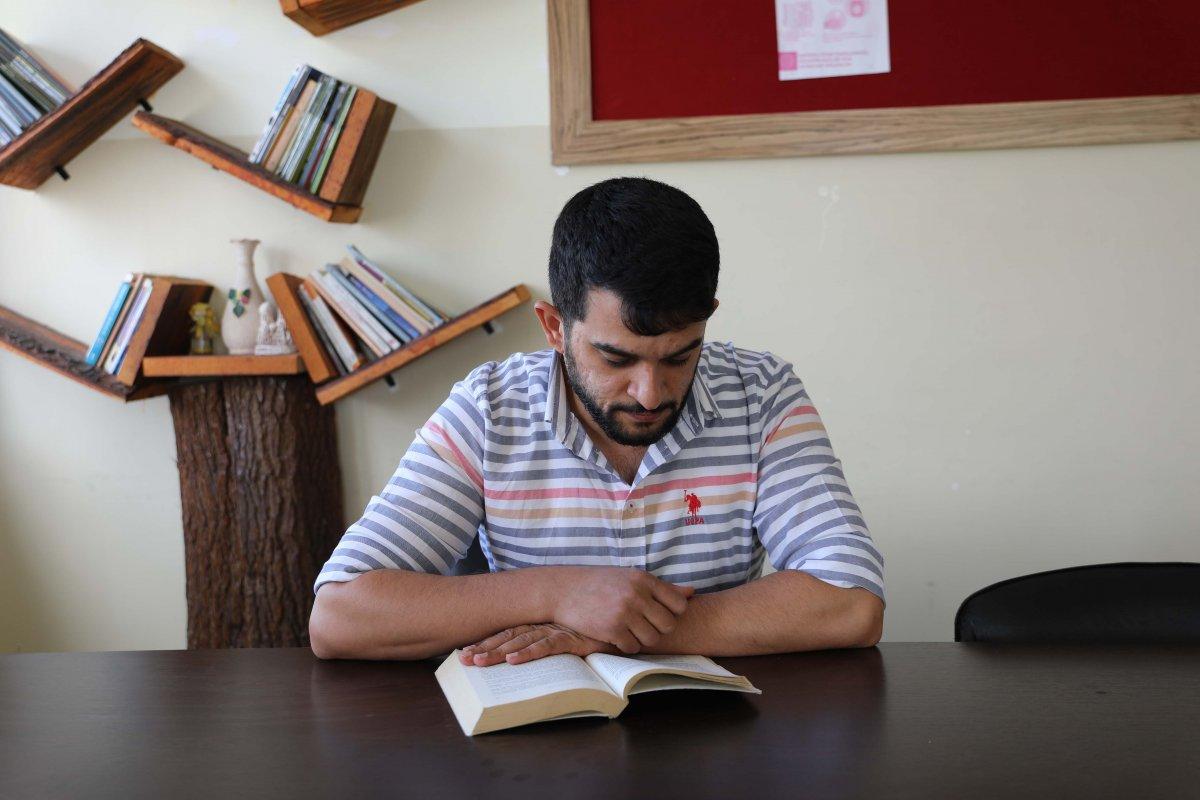 Gaziantep te genç öğretmenden alkışlanacak hareket  #2
