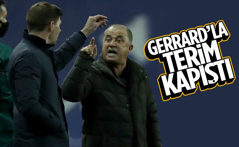 Fatih Terim ve Steven Gerrard tartıştı