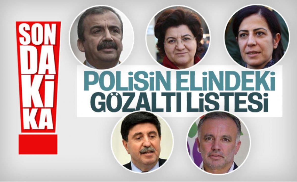 Kobani eylemleri soruşturmasında 17 kişi tutuklandı  #3