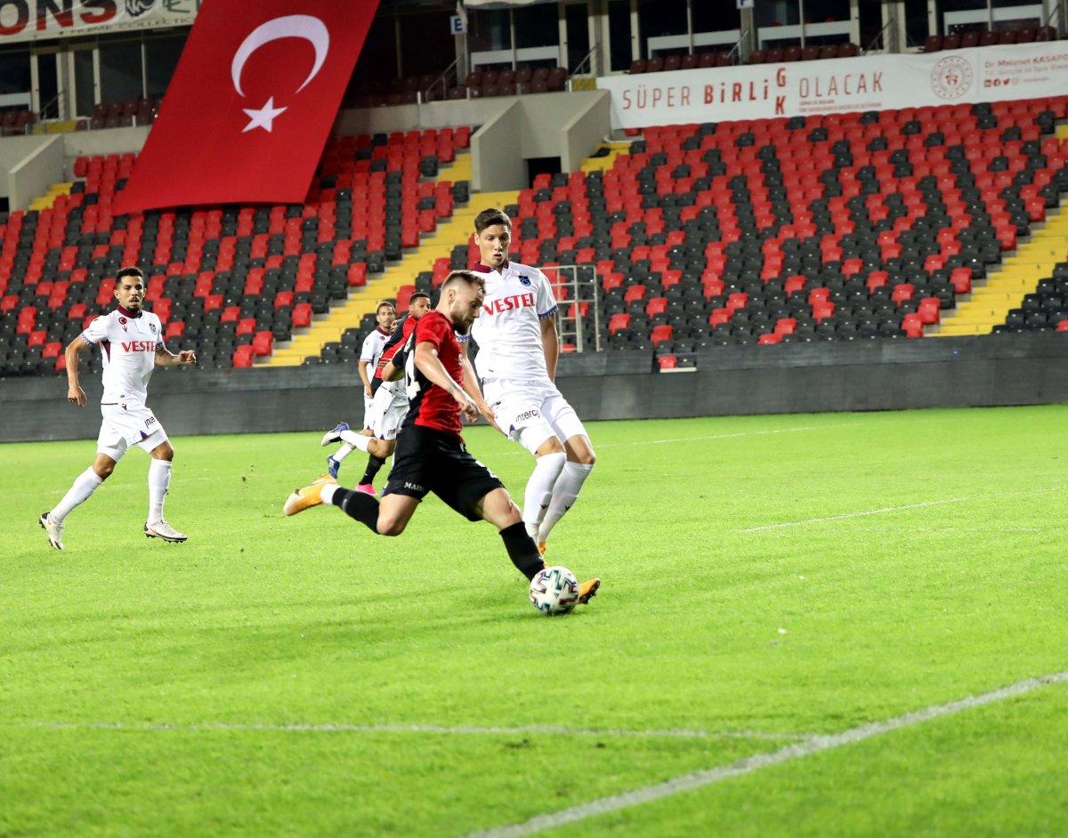 Gaziantep ile Trabzonspor berabere kaldı #2