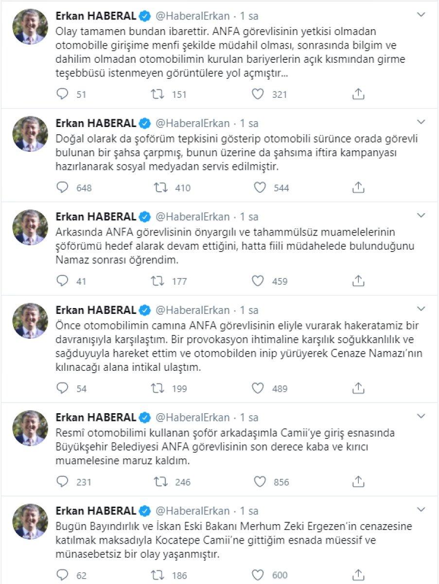 Şoförünün belediye personeline kasten çarptığı Erkan Haberal açıklama yaptı  #1