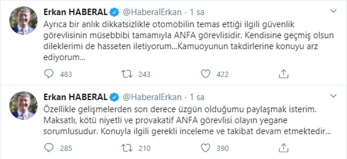 Şoförünün belediye personeline kasten çarptığı Erkan Haberal açıklama yaptı  #2