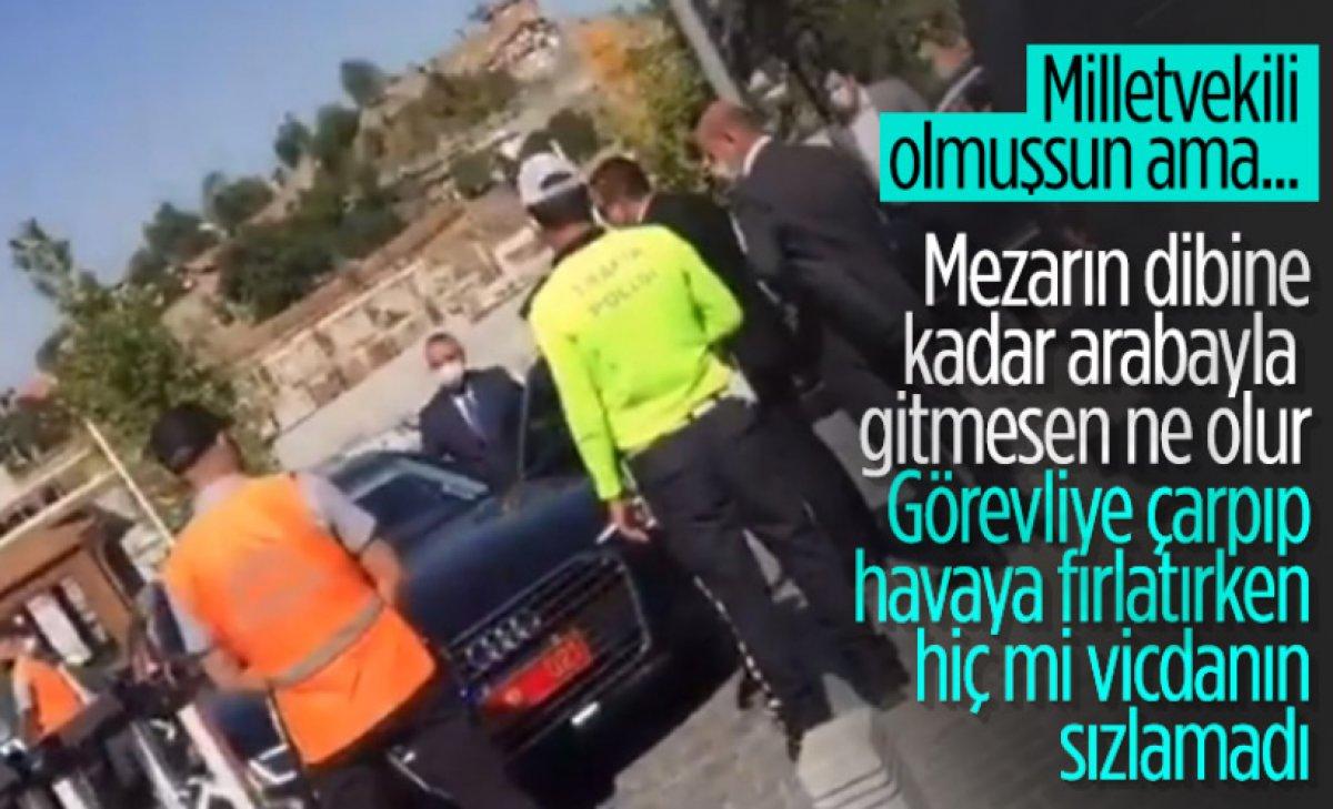 Şoförünün belediye personeline kasten çarptığı Erkan Haberal açıklama yaptı  #3