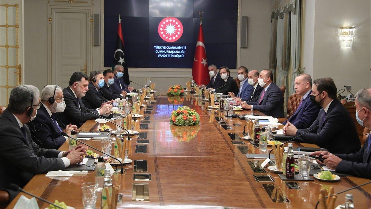 Erdoğan: Libya'nın refahı için her desteği vereceğiz