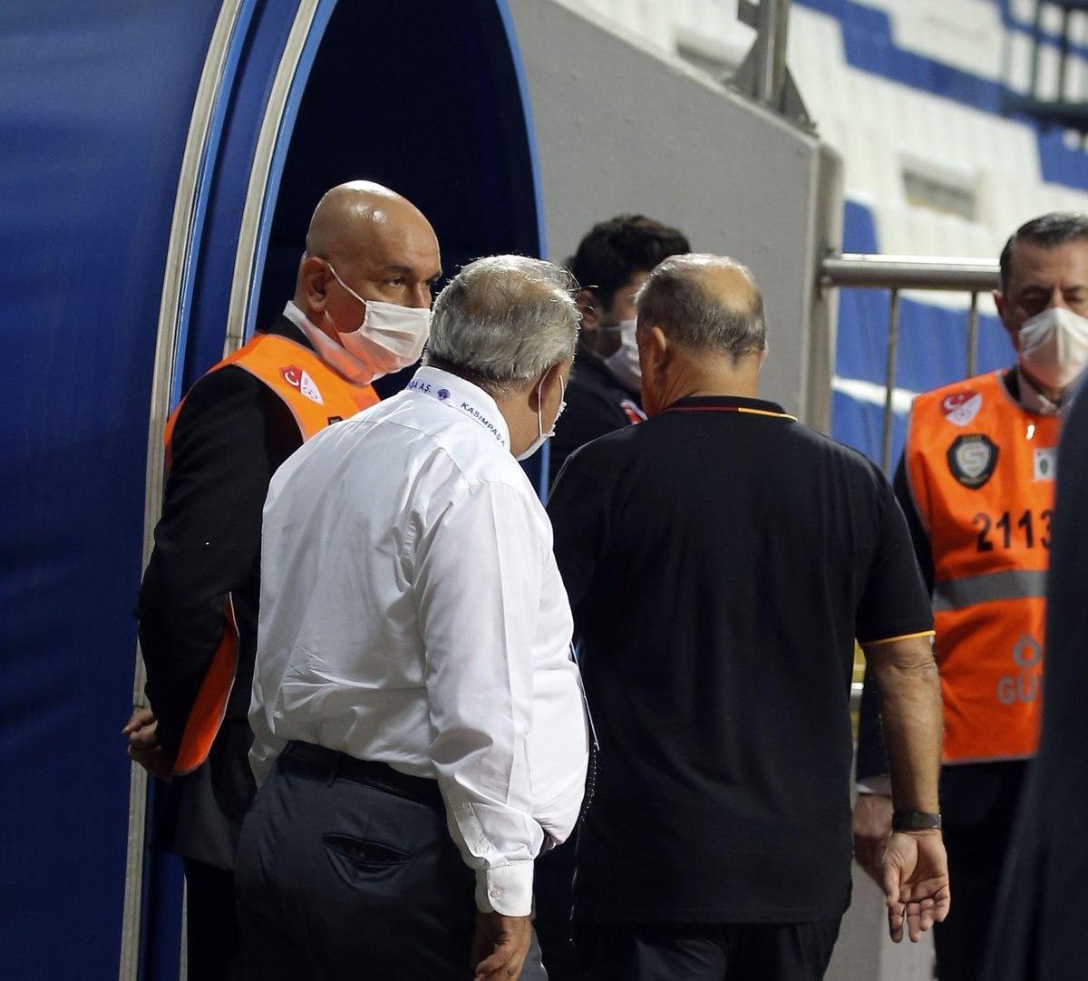 Fatih Terim in maç sonu açıklamaları #2