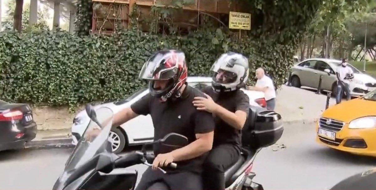 Beşiktaş, Rachid Ghezzal ı motosikletle yetiştirdi  #1